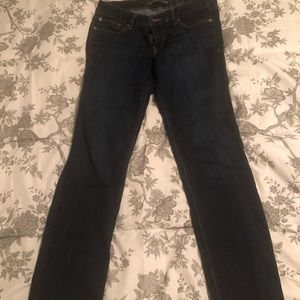 Barely boot cut Express jeans